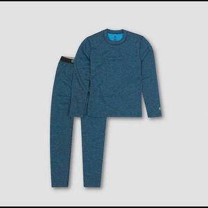 Champion lightweight thermal set Blue